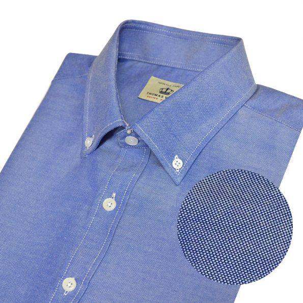 1THTHC1MSU155 버튼다운 옥스포드 블루